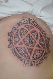complex heartagram him music band tattoo tattoo com garysnpr