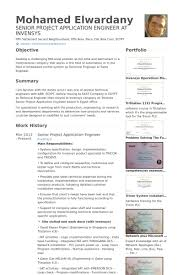 Sample Resume Application by Application Engineer Resume Samples Visualcv Resume Samples Database