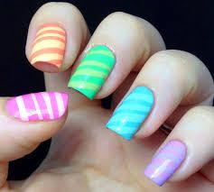 nail polish wars candy striped