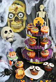Halloween Cupcakes Cake by Kitchen Simmer Monster Party Halloween Cupcakes Goodcookcom