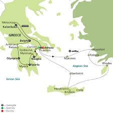 Greece Turkey Map by Egypt Trip Client Story A Z Tours