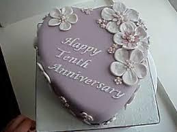 tenth wedding anniversary 10th wedding anniversary cake 10th wedding anniversary wedding