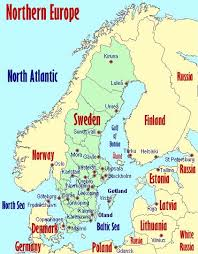 map of n europe map of northern europe with cities thefreebiedepot