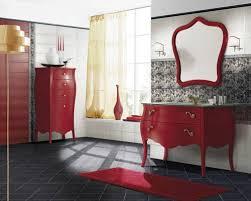 Red Bathroom Cabinets Download Red Bathroom Monstermathclub Com