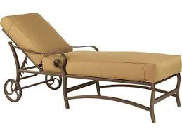 Chaise Lounge With Wheels Outdoor Castelle Outdoor Chaise Lounges Patioliving