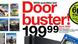 target black friday 2017 deals on ps4 and xbox