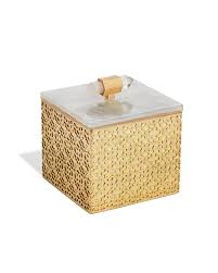 Yellow Decorative Box Brass Decorative Boxes In Mother Of Pearl Kendra Scott