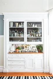 Hutch Bar And Kitchen Best 25 Built In Bar Cabinet Ideas On Pinterest Built In Bar