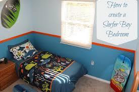 Roxy Room Decor How To Create A Surf Bedroom Theme Mom Vs The Boys