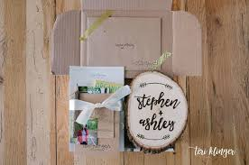 wedding welcome boxes wedding welcome box teri klinger photography