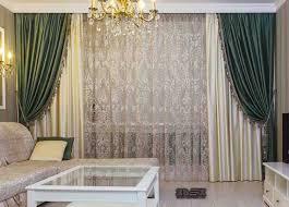 Sheer Curtains Tab Top Living Room Luxury Curtains For Living Room Decorative Curtains