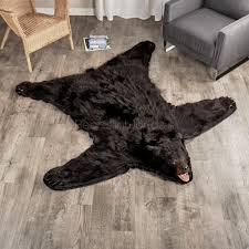 6 Foot Round Rugs by Round Rugs As Runner Rug For Unique Black Bear Rugs Yylc Co