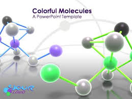 atom molecule a powerpoint template from presentermedia com