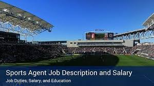 sports agent job description sports agent salary and job description