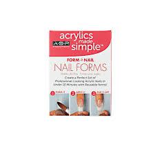 asp form a nail nail forms