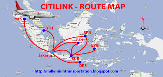 Spirit Airlines Route Map by Civil Aviation July 2011