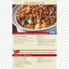 stove top dressing stove top pot pie turkey casserole cauliflower png