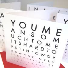 cool valentines cards eyechart valentines cards you so much to me its to