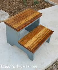 Step Stool For Kids Bathroom - kids step stool with yardstick steps domestic imperfection