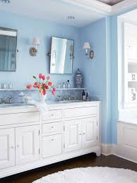 using color throughout a house shelves bedrooms and bath