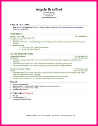 Sample Resume No Work Experience College Student by Resume With No Work Experience Example College