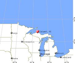 map of calumet michigan calumet michigan mi 49913 profile population maps real