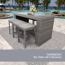 patio bar furniture sets harmony wicker bar sets patio pub furniture design furnishings