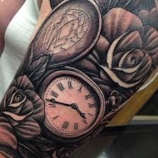 skull tattoo sleeve by craig holmes by craigholmestattoo on deviantart