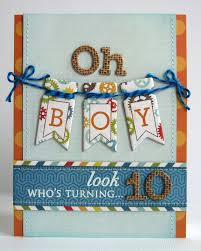 snippets by mendi an echo park all about a boy birthday card