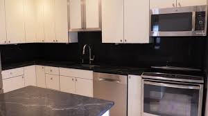 Kitchen Countertops And Backsplash by How To Install Quartz Countertops And Backsplash Youtube