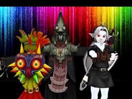 Dark Link Halloween Costume Animals Mmd Dark Link Zant U0026 Skull Kid