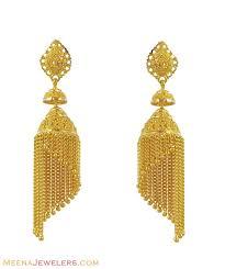 gold jhumka earrings design earrings gold image eokb andino jewellery