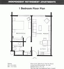 Apartment Floor Planner Floor Plan Of One Bedroom Apartment With Design Hd Images 25251