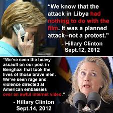 Benghazi Meme - meme shows how hillary can t keep her benghazi story straight