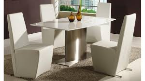 White Leather Dining Chair Modern Leather Dining Chairs With Arms U2014 Aio Contemporary