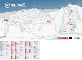 Andorra Map Trail Map Pal Arinsal U2013 La Massana Vallnord