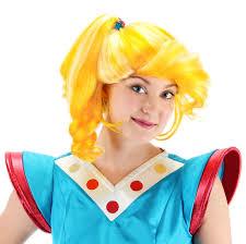 rainbow bright wig 80s cartoon rainbow brite costume wig one