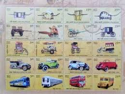 postal department commemorates india s history of transport drivespark