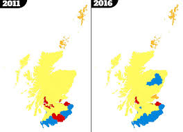 Election 2016 Map by Scottish Parliament Election Results Two Maps That Show Labour U0027s