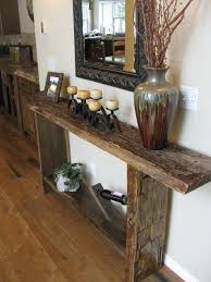 reclaimed wood entry table pin by janet chandley on wood working pinterest reclaimed wood