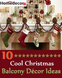 10 cool christmas balcony decor ideas homedecorxp com