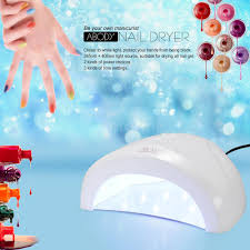 abody sunone led uv lamp nail polish dryer gel curing white light