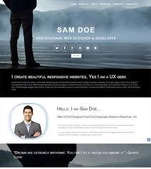 personal portfolio template personal portfolio templates page 2 of 2 webthemez