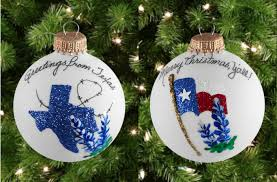 tree ornaments can show pride by texans