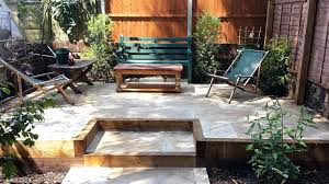 concrete patio ideas backyard raised patio designs home design ideas and pictures