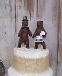 woodland cake toppers cake topper wedding cake topper animal cake topper