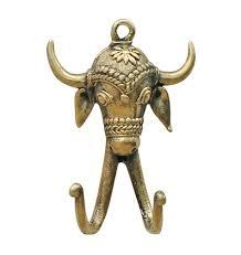 bull u0027s eye 4 5 bull hook rustic wall mounted double hook