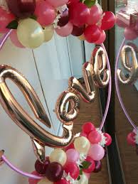 30th birthday flowers and balloons gorgeous organic bubbly hoop adorned with warm ombré tones of