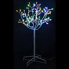 3 ft pathway tree with 70 warm white led lights 2 pack