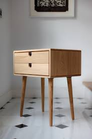 mid century scandinavian side table nightstand one or two